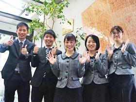 菱信産業株式会社新人社員の写真
